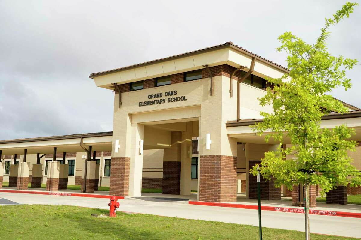 Tomball ISD Grand Oaks Elementary School, 20241 Cypress Rosehill Rd., is shown Thursday, March 25, 2021 in Tomball.