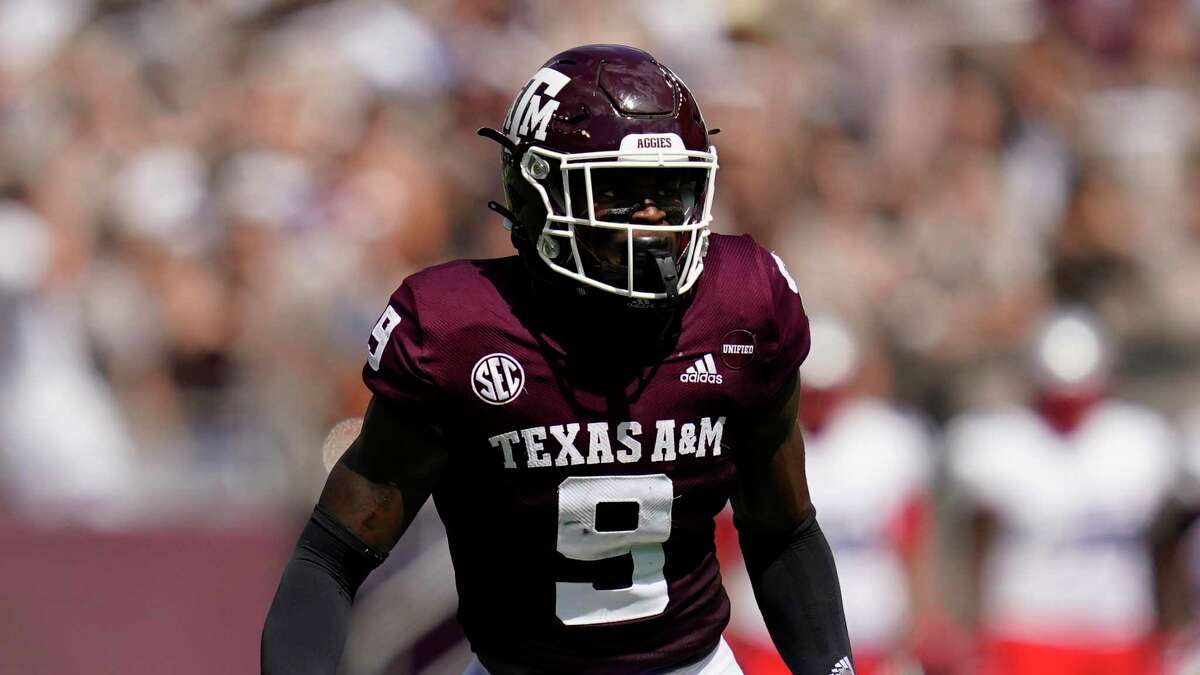 Texas A&M defensive back Leon O'Neal Jr. and the rest of the Aggies' defense will be tasked to stop a potent running game by Arkansas, which boasts three of the top 20 rushers in the Southeastern Conference.