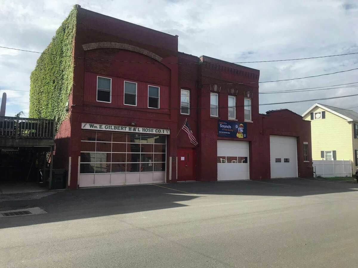 The Green Island Fire Department on Clinton Street in Green Island, N.Y. on Thursday, Sept. 23, 2021.