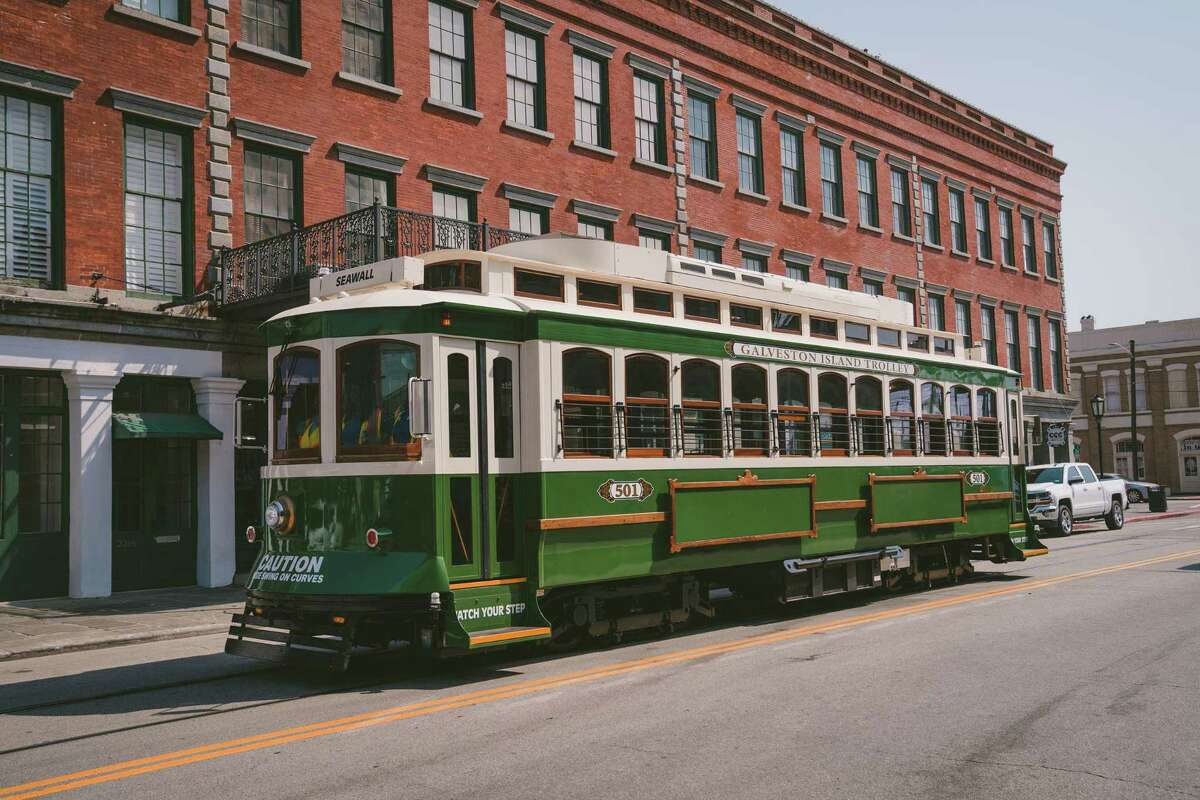 Galveston has been testing its restored classic rail trolleys since April 2021. They will return to service on weekends starting Oct. 1, 2021.
