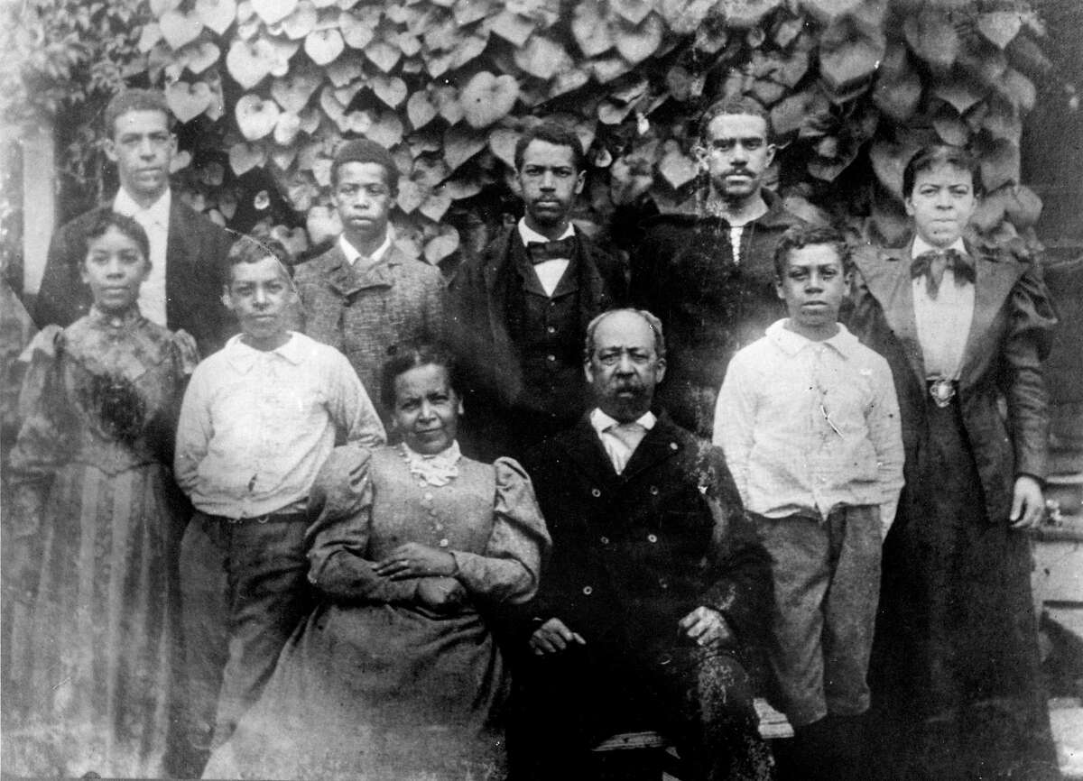 William B. Gould, wife Cornelia Williams Read Gould and their children in the late 1880s.