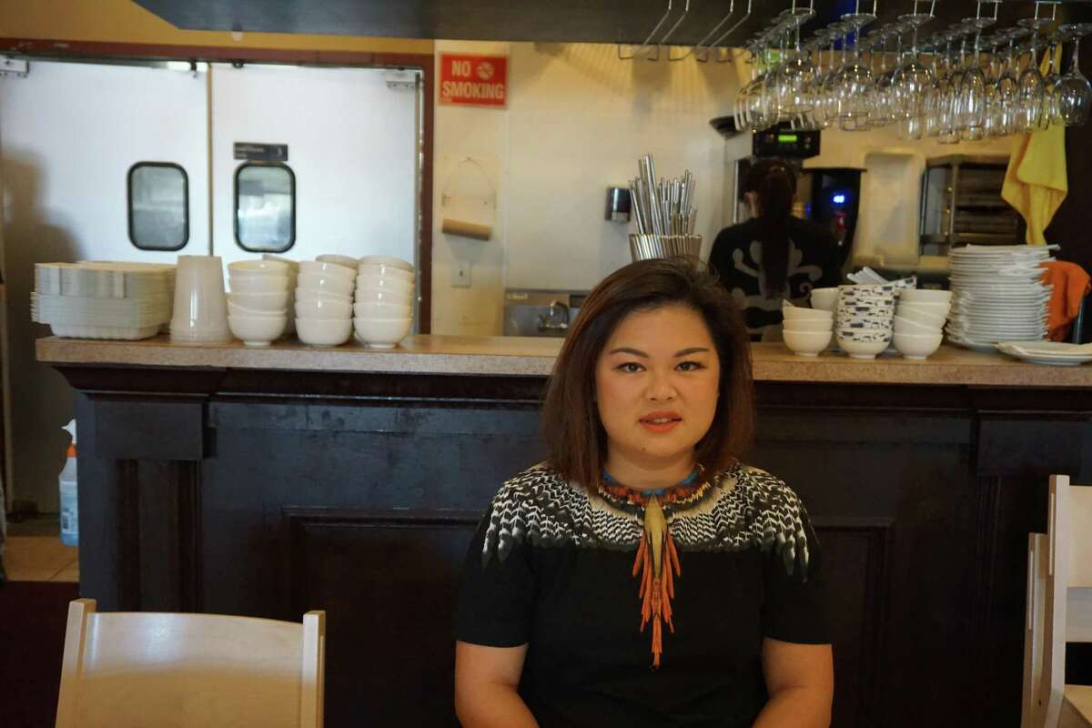 Mala Sichuan Bistro Owner Cori Xiong received a $10,000 grant for small business owners of color in Harris and Fort Bend counties through the Comcast RISE Investment Fund program. Pictured here at her China Town location in Houston, she encourages other small business owners to apply for the next round of 100 grants, totaling $1 million.
