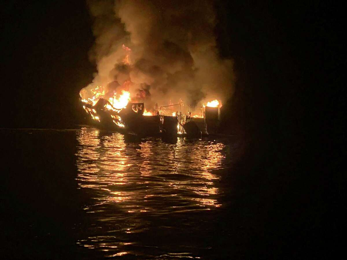 The Conception liveaboard vessel burned on Sept. 2, 2019 off the Southern California Coast, killing 34 people on board.