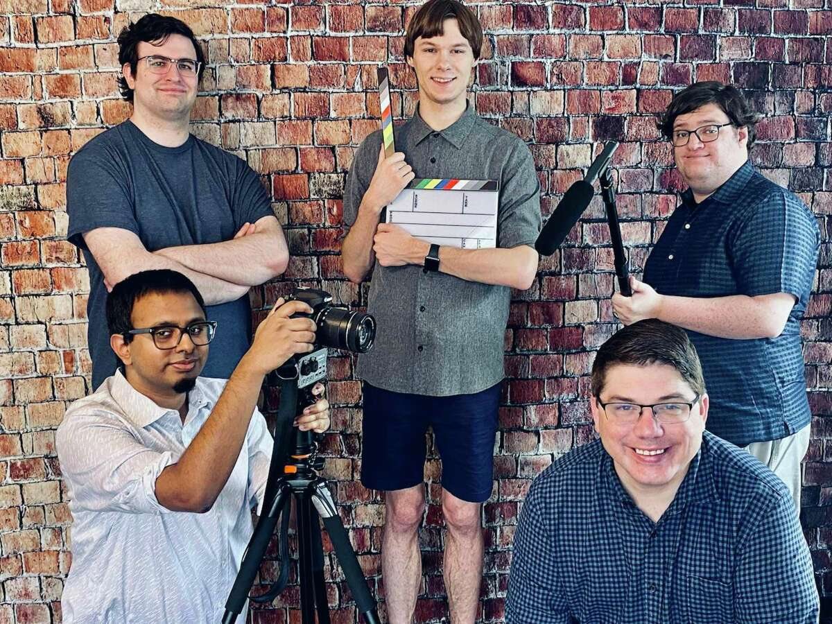 The Spectrum Fusion Media Team: (top, left) William Purdy, creative director; (top middle) Darren Logue, production assistant; (top, right) Rhys Griffin, visual storyteller and voiceover artist; (bottom, left) Philip Thomas, lead editor; and (bottom, right) Adam Butts, marketing assistant.
