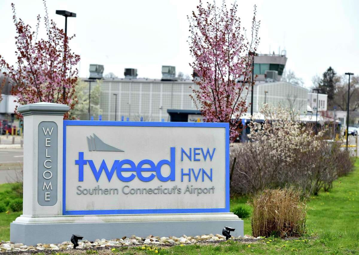 New Haven, Connecticut - Friday, April 17, 2020: Tweed New Haven Airport in New Haven.