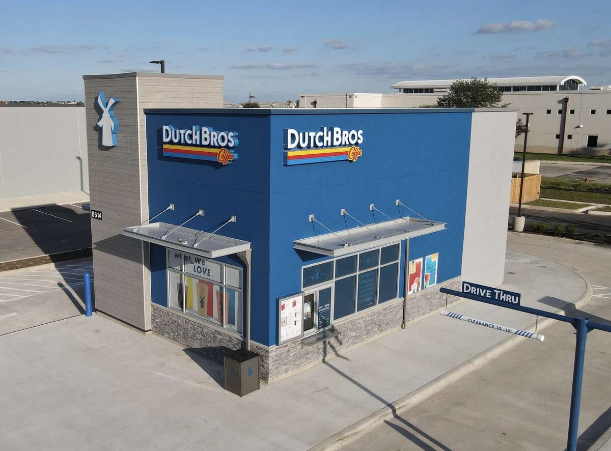 Dutch Bros Coffee is opening its first San Antonio location on Sept. 29 on the far West Side.