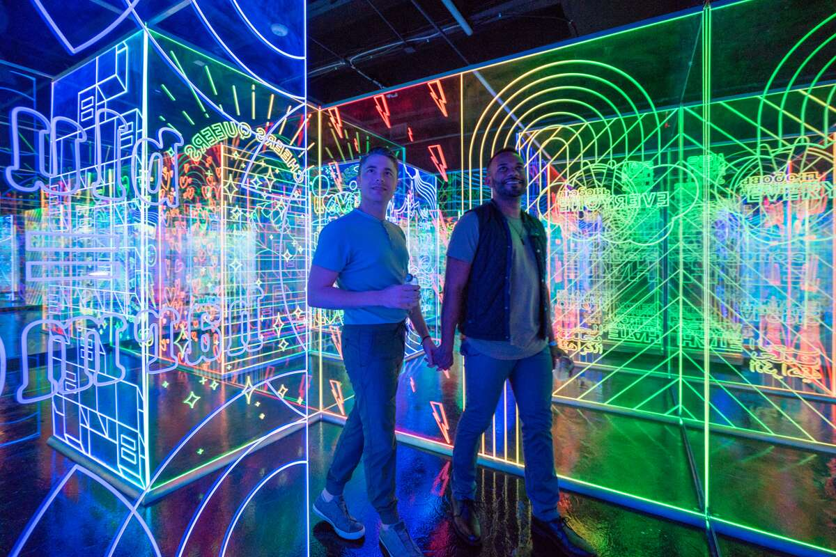 Hopscotch's newest installation will take visitors through a colorful journey of love and acceptance.