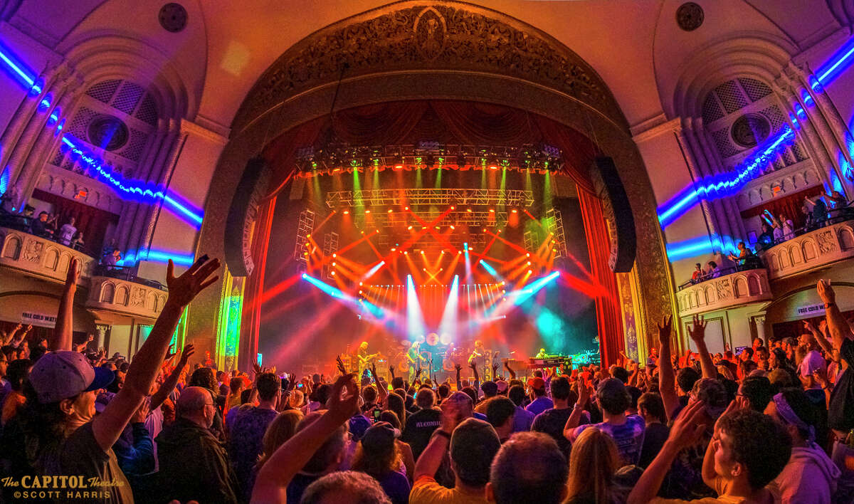 The Capitol Theatre's in-house state-of-the-art sound, lighting, and digital wall projections set the stage perfectly for a legendary night of entertainment.