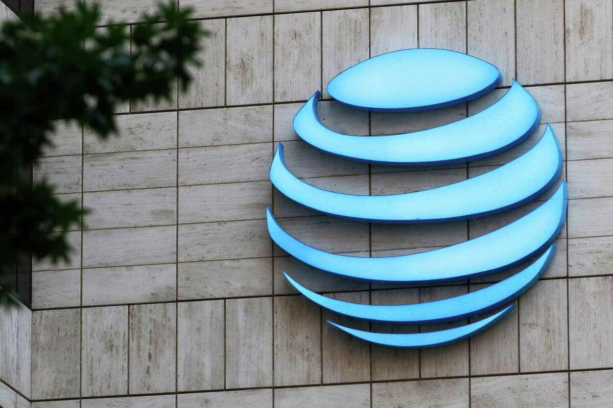 AT&T corporate headquarters in downtown Dallas. (David Woo/The Dallas Morning News/TNS)