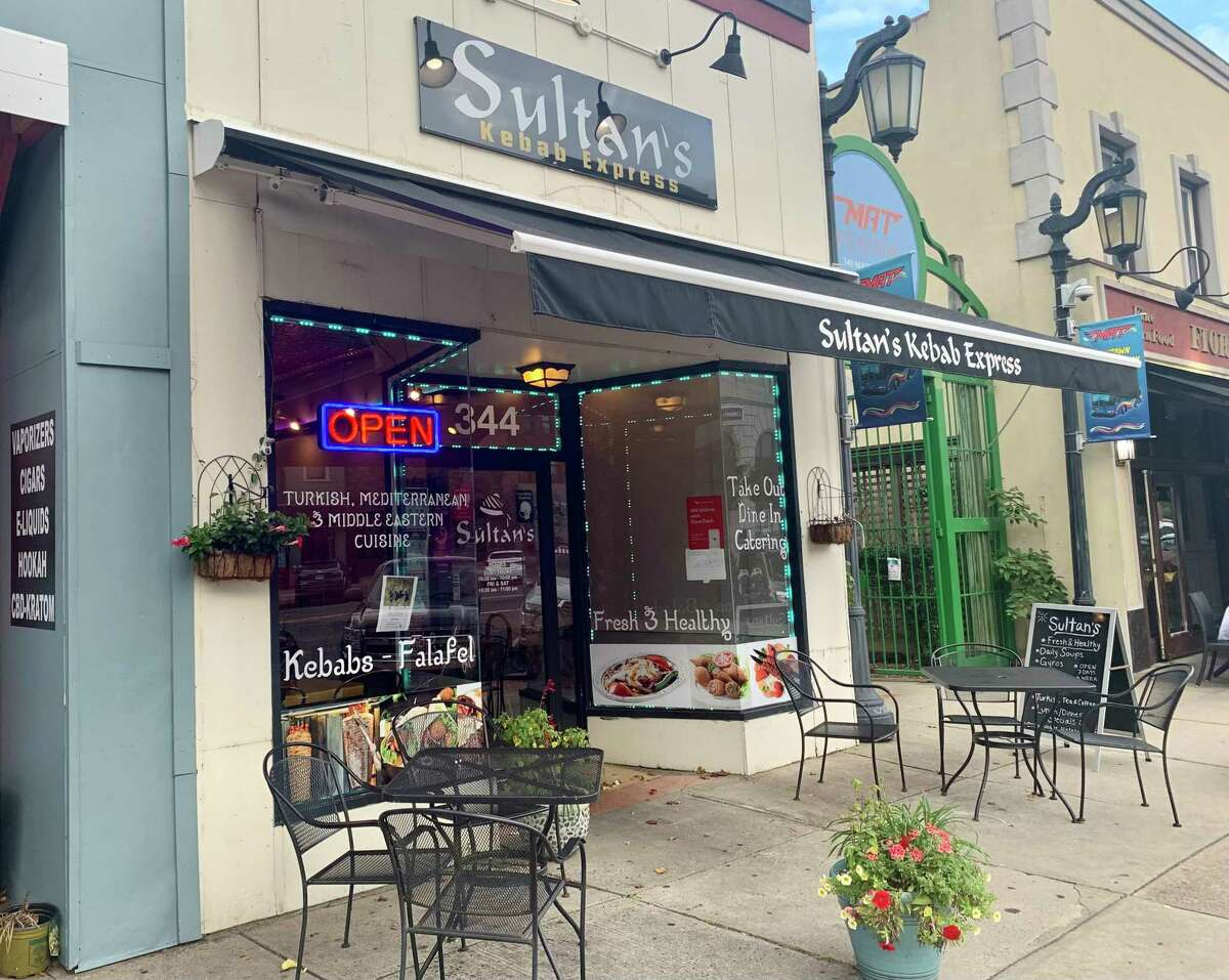 Sultan's Kebab Express is located at 344 Main St. in Middletown.