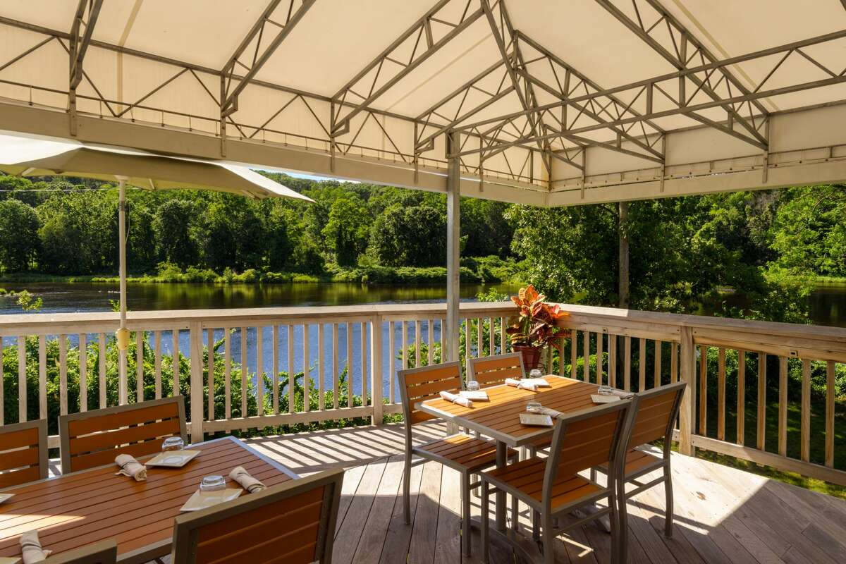 Seed 41's new Bridge Street space comes with a larger dining room and an enviable outdoor deck overlooking the Farmington River.