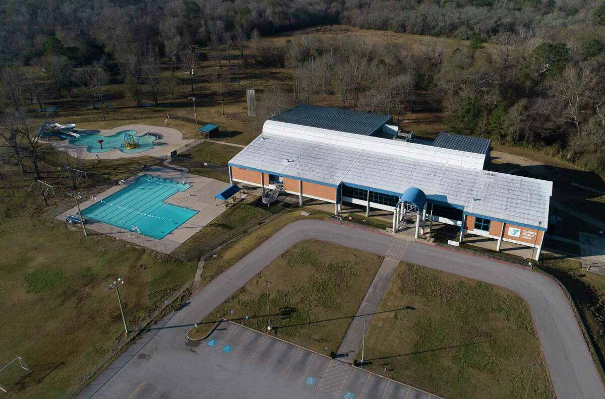 The Conroe Family YMCA is seen, Wednesday, Jan. 13, 2021, in Conroe. The property has been purchased by the City of Conroe and looks forward to reopening in January 2022. The property will be called Owen park.