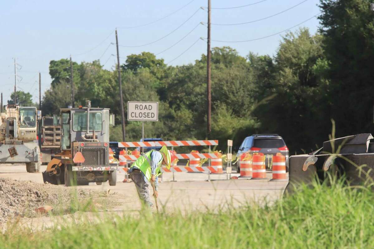Construction to improve northbound feeder lanes at Texas 288 and FM 518 aims to improve traffic congestion near the intersection.