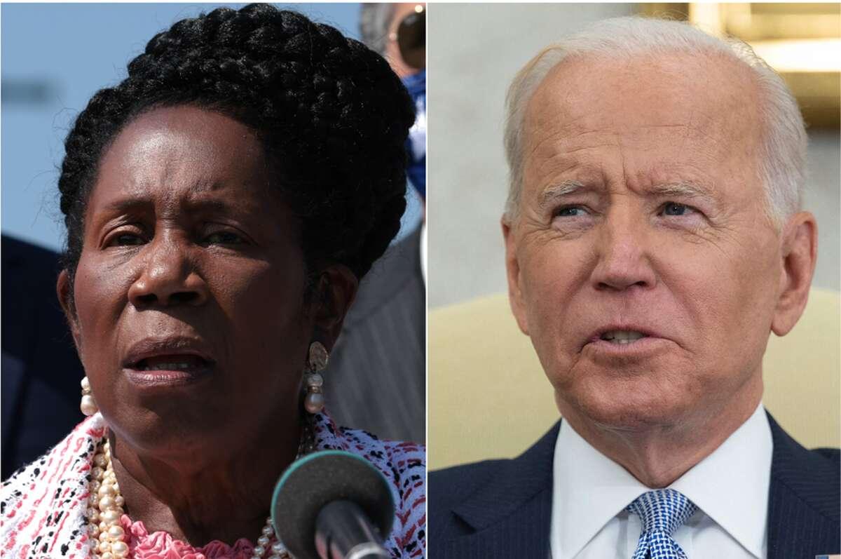 Rep. Sheila Jackson Lee urged President Joe Biden to end Title 42.