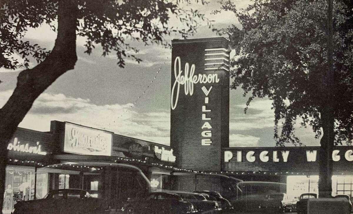 Jefferson Village as seen in a Thomas Jefferson High School 1959 Monticello yearbook. Jefferson Village opened in 1948.