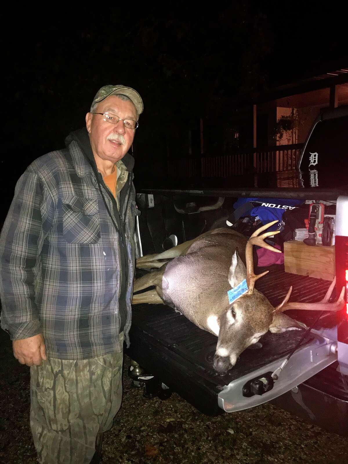 Big Rapids' Paul Cole is among the area's most avid deer hunters.