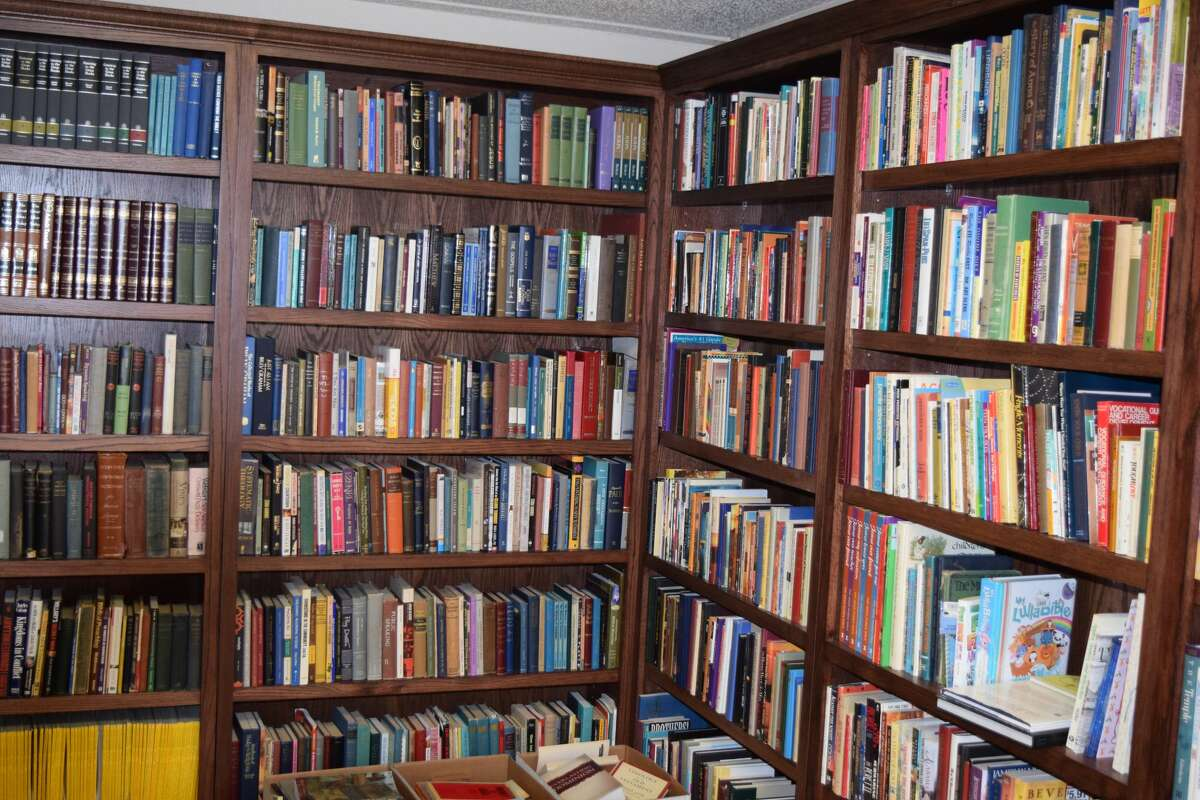 Happy Union Baptist Church is preparing to officially open and dedicate its library made possible through a donation of books collected by the late Jim DeWese and later passed on to pastor Richard Miller.
