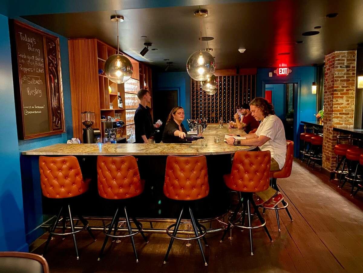 The bar at Bar Bene in Hudson.