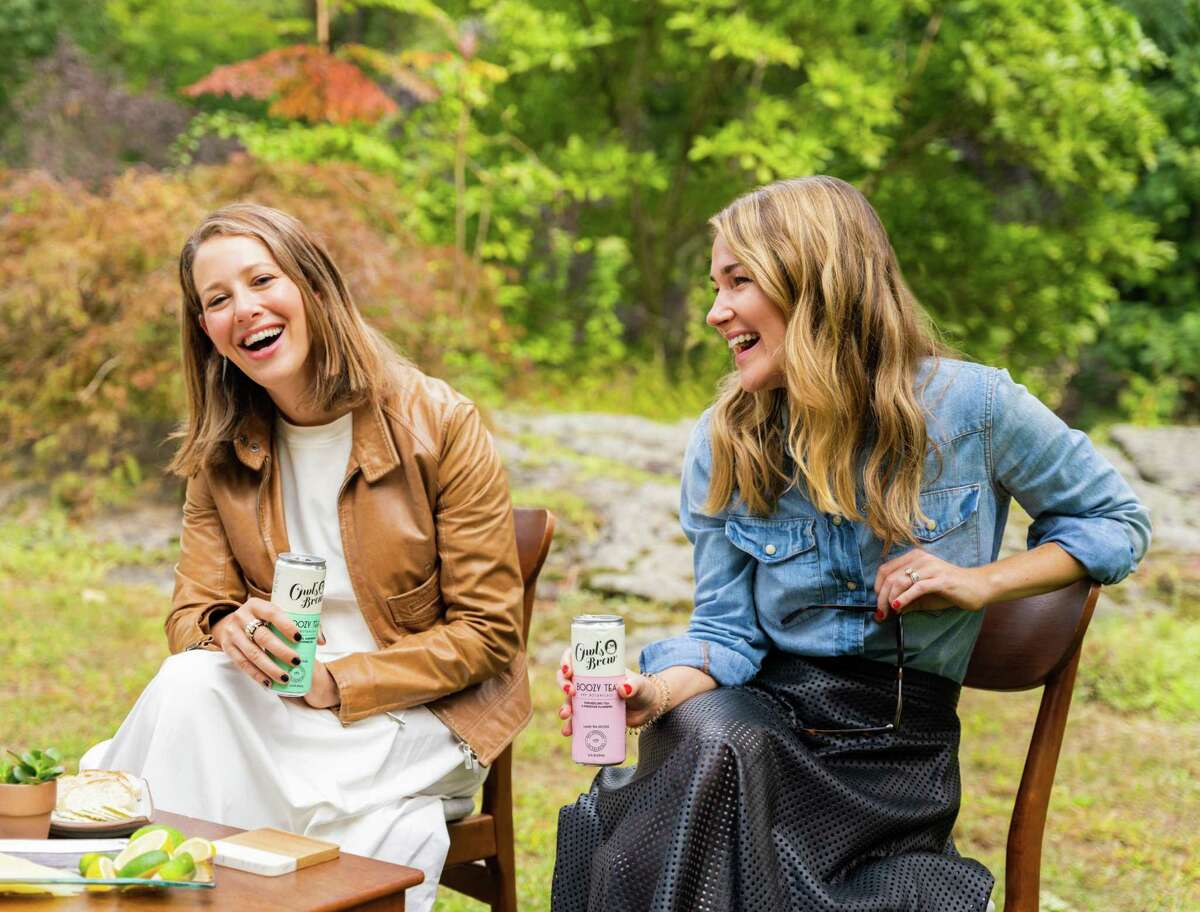 Jennie Ripps, left, and Maria Littlefield, founders of Owl's Brew which has established a Connecticut headquarters in Stamford after a $9 million round of initial funding. (Promotional photo courtesy Owl's Brew)