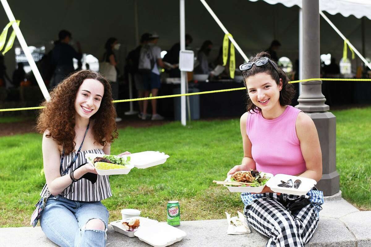 """As part of the 16th annual Eat Local Challenge, themed """"limited miles, unlimited flavors,"""" Wesleyan University's food service provider Bon Appétit was charged with crafting a meal from products and ingredients harvested within a 150-mile radius of campus."""