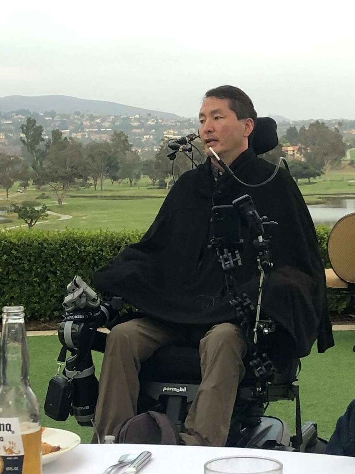 Dr. Rex Marco, who was paralyzed in 2019, will return to Memorial Park to fundraise for spinal cord research