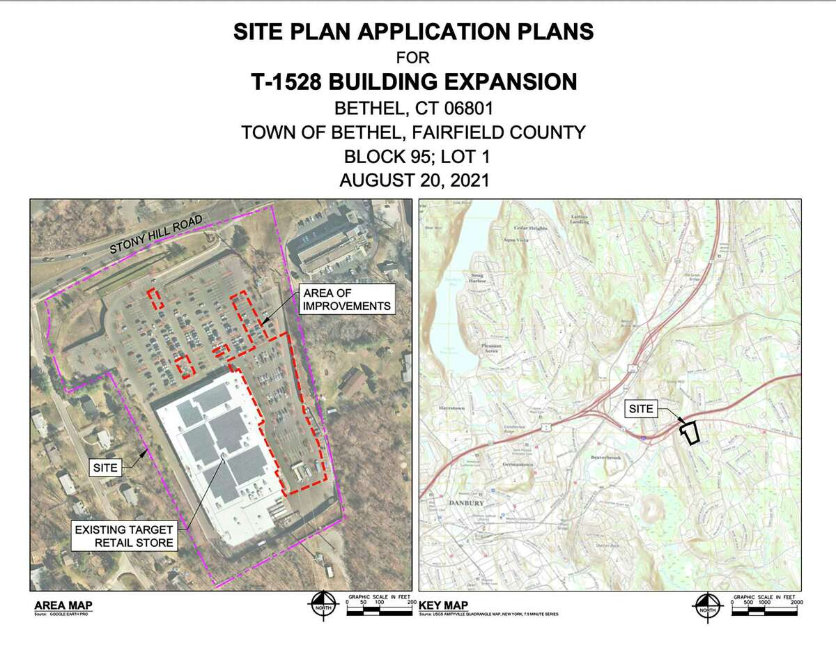 Expansion proposed for the Bethel target store.