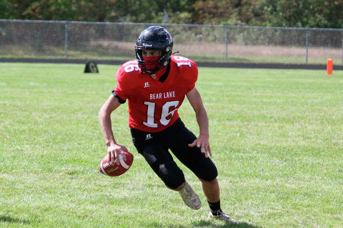 Bryce Harless has twice this year topped 200 yards rushing for the Lakers. (File photo)