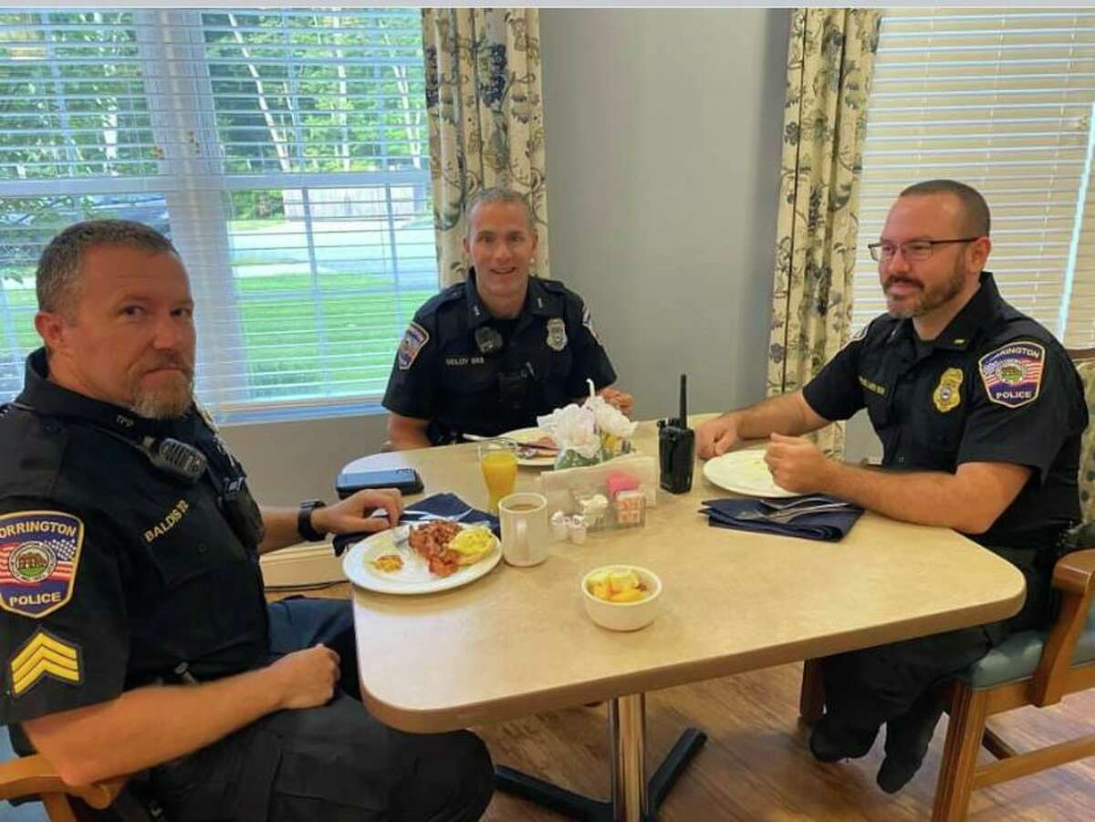 Keystone Place at Newbury Brook in Torrington celebrated Assisted Living Week Sept. 13 with a breakfast for first responders.