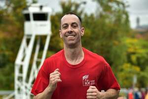 Shelton Police Lt. Robert Kozlowsky will be running in the Marine Corps 10k, marathon and ultramarathon next month to aid those military veterans in need and raising awareness about the high rate of suicide among veterans.