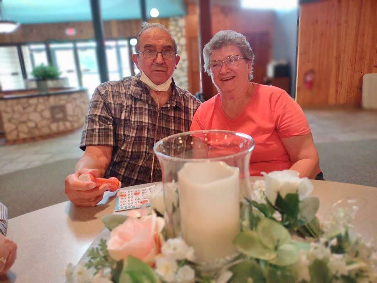 Harlan and Charlotte Kott, frequent visitors at the senior center, attended fun bingo on Wednesday. The couple recently celebrated their 65th wedding anniversary. (Courtesy photo)