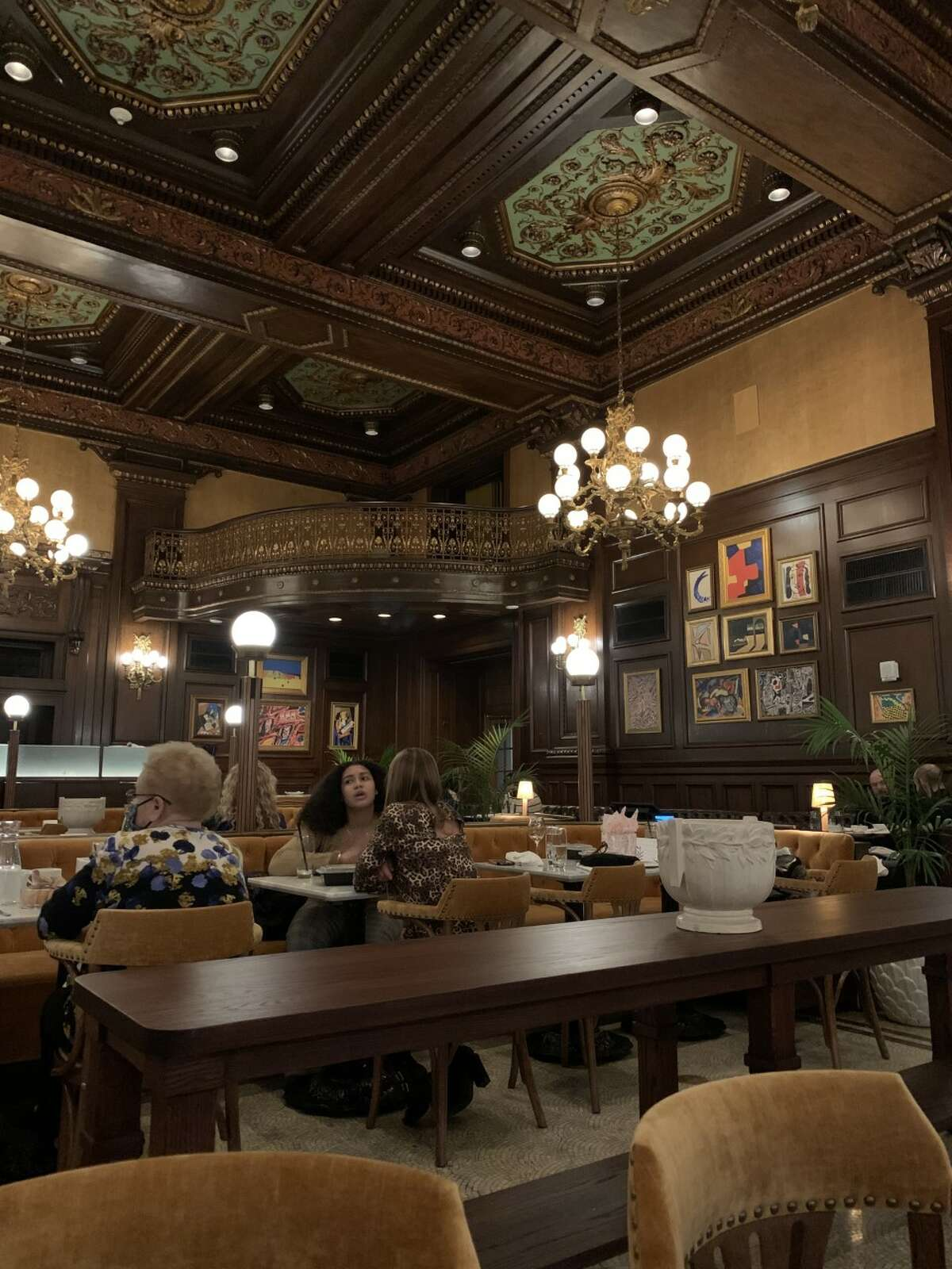 Le Cavalier is an in-house French brasserie at the Hotel Du Pont in Wilmington, Del.