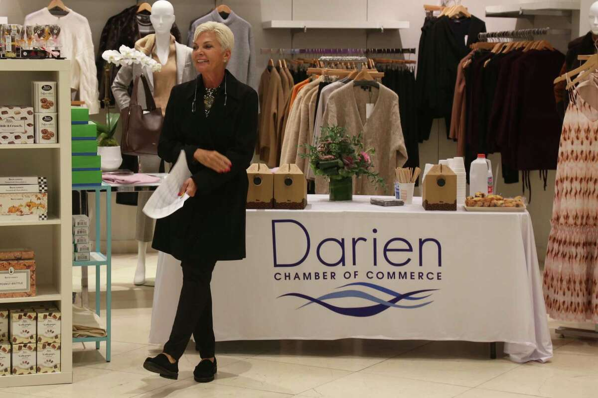 President Gina Zangrillo was emotional but excited to be representing her father Stephen's legacy at the Dairen Sport Shop's 75th anniversary.