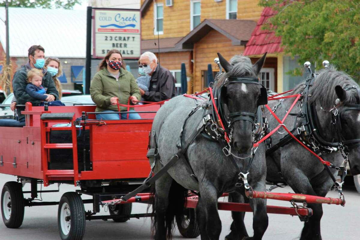 Fall Fest in Beulah will feature horse drawn carriage rides and a variety of other autumn activities. (File Photo)
