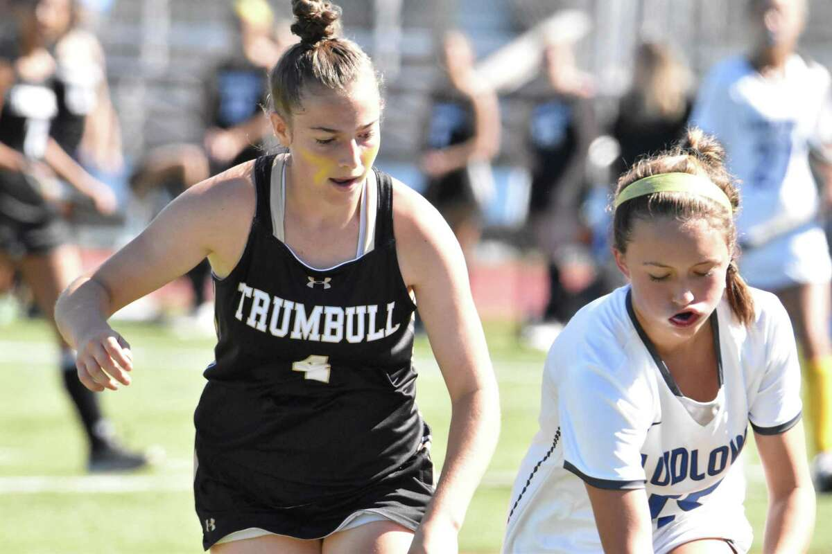 Maura Carbone's goal with 3:54 left in the game lifted Trumbull past Fairfield Ludlowe.