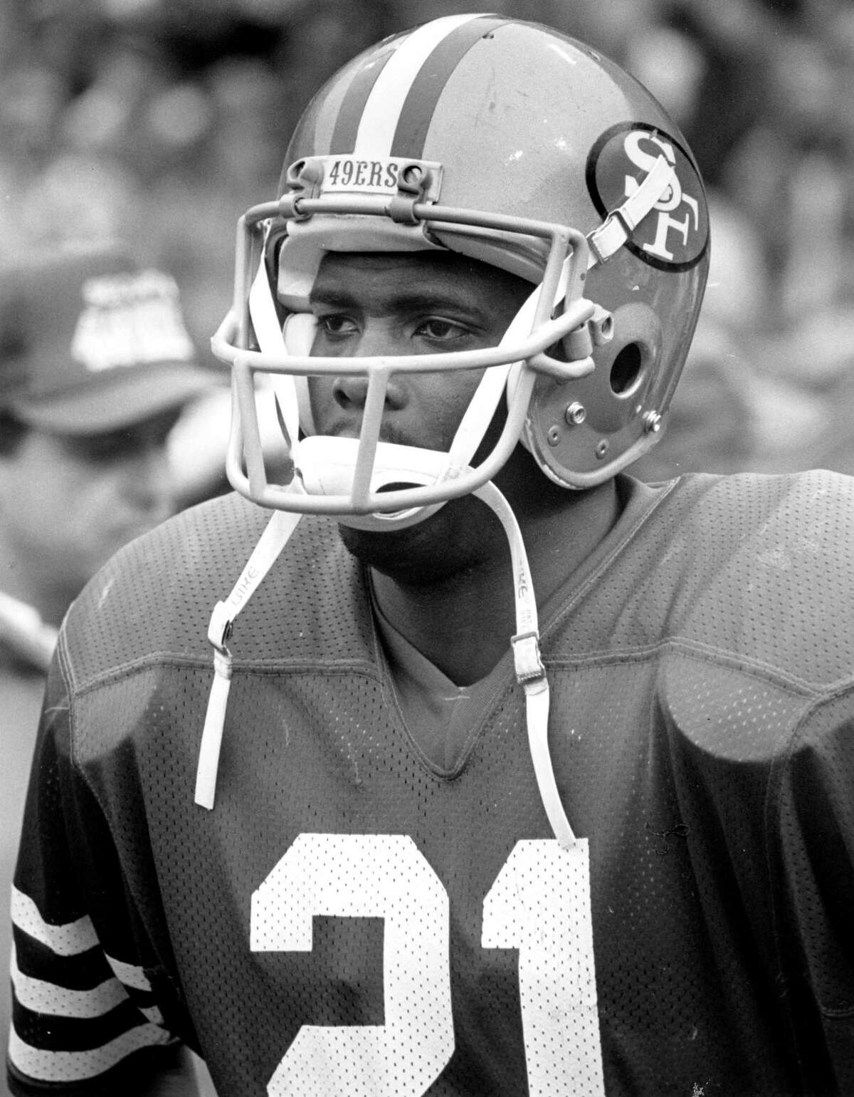 San Francisco 49ers cornerback Eric Wright had the first interception of his career in a 21-14 defeat of the Saints in Week 4 of the 1981 season.