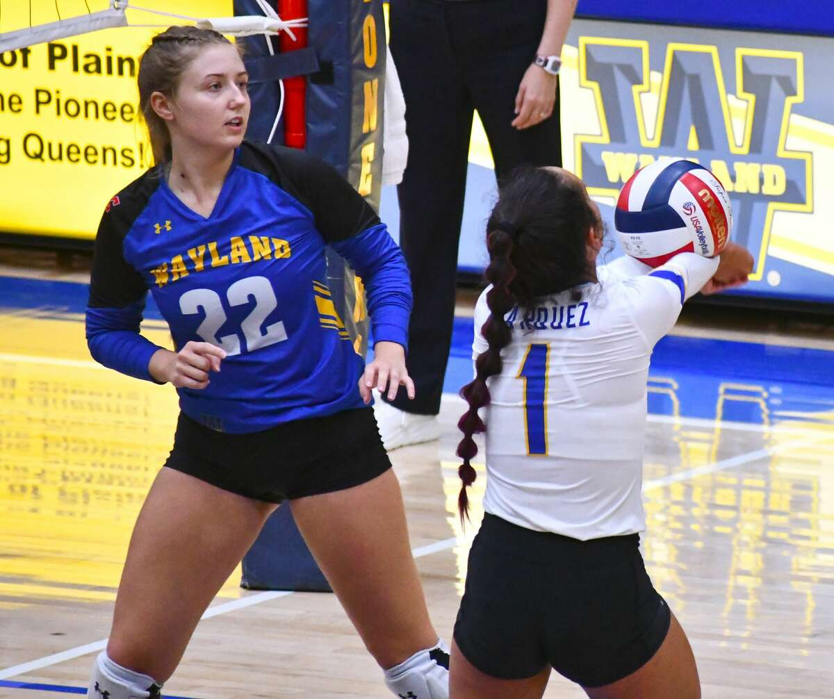 Wayland Baptist defeated Texas Wesleyan 3-1 in a Sooner Athletic Conference volleyball game on Saturday in the Hutcherson Center.