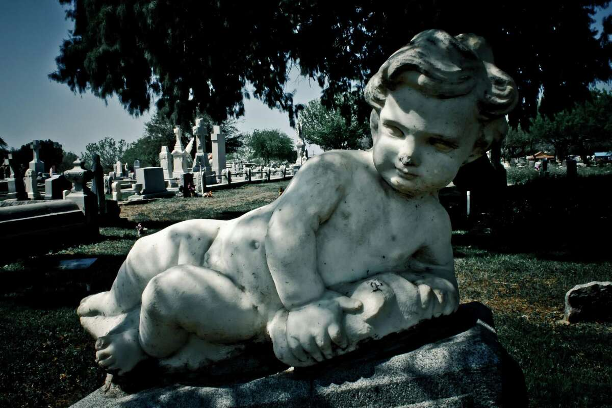 """Just in time for Halloween, the Webb County Heritage Foundation presents a photo exhibit entitled """"Cities of the Dead - Laredo-Area Historic Cemeteries"""" on display now at the Villa Antigua Border Heritage Museum at 810 Zaragoza Street."""