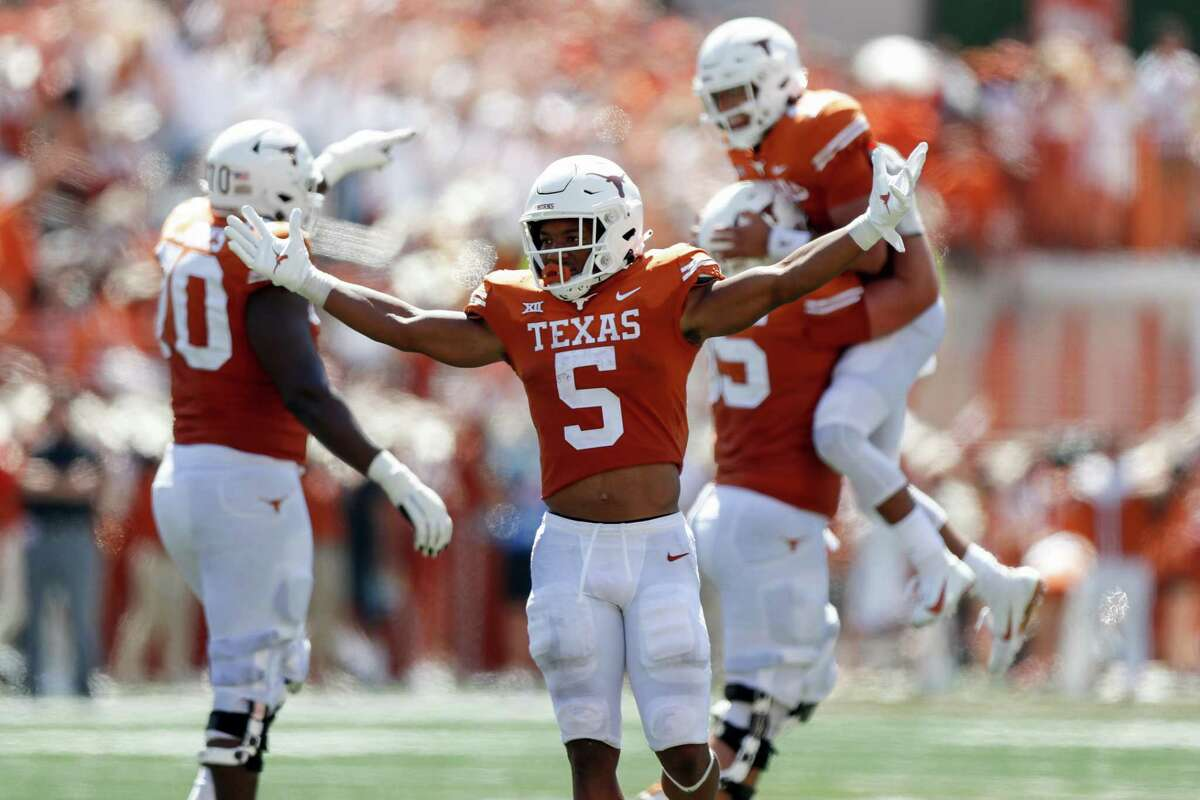 Bijan Robinson wasn't among the six Texas players to score an offensive TD, but he did lead the team with 137 rushing yards.