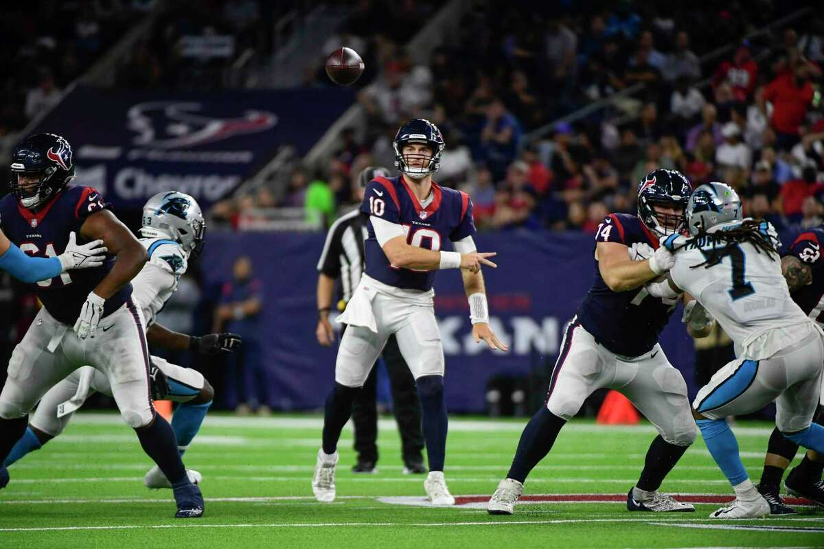 Rookie quarterback Davis Mills has been OK but not great for the Texans. In three preseason games and 80 regular-season snaps, he has yet to show he has what it takes to be a star-level QB.