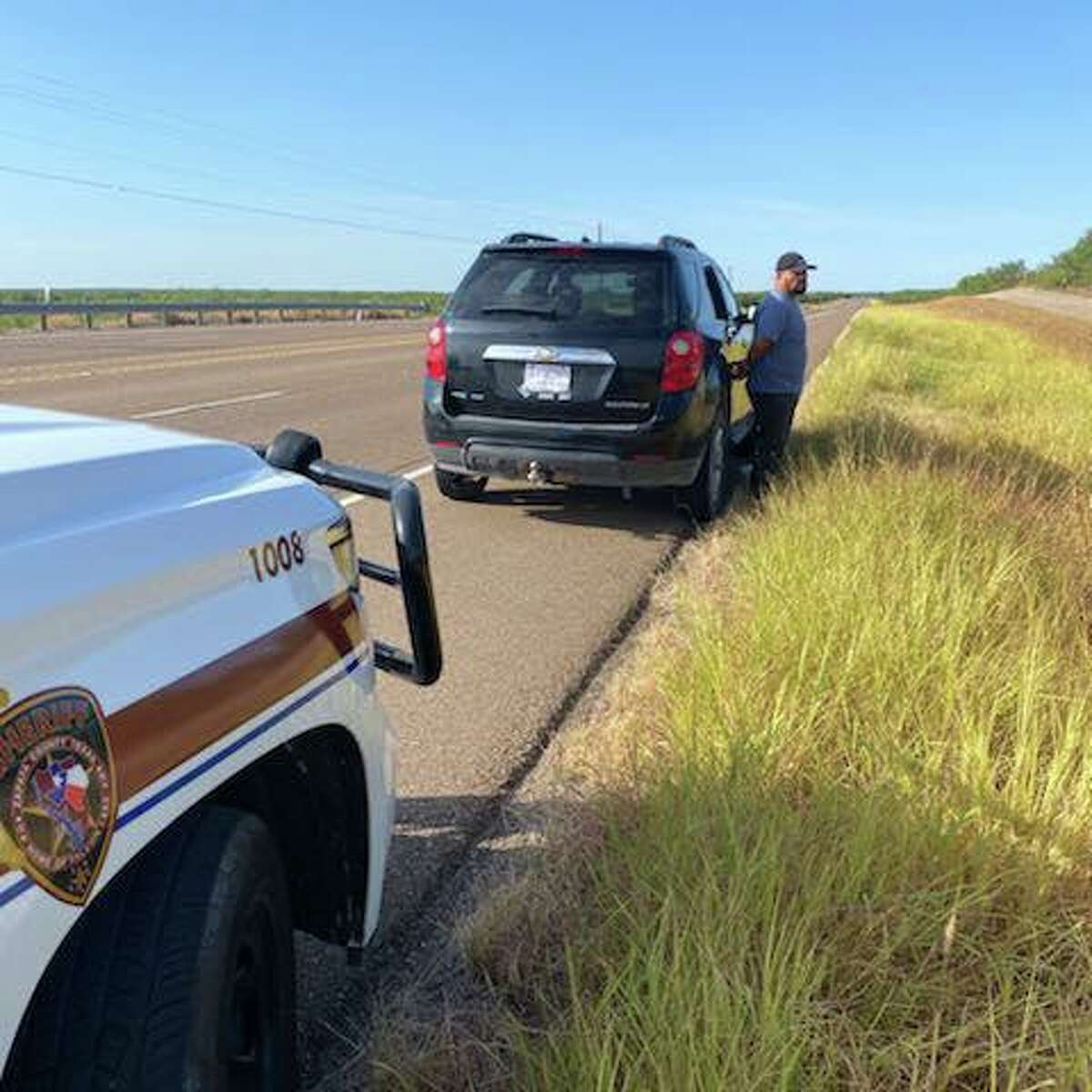 The Zapata County Sheriff's Office turned over two individuals to the USBP.
