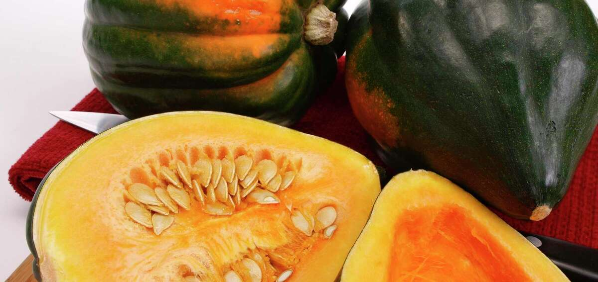 Acorn squashes develop the best flavor when roasted.