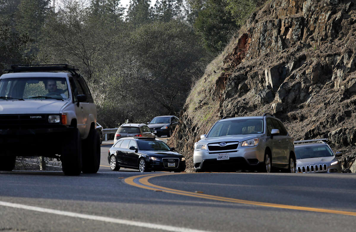 Highway 49, a narrow, winding road near the Auburn State Recreation Area, has been overwhelmed with traffic in recent years as more people visit the park in fast-growing El Dorado and Placer counties.