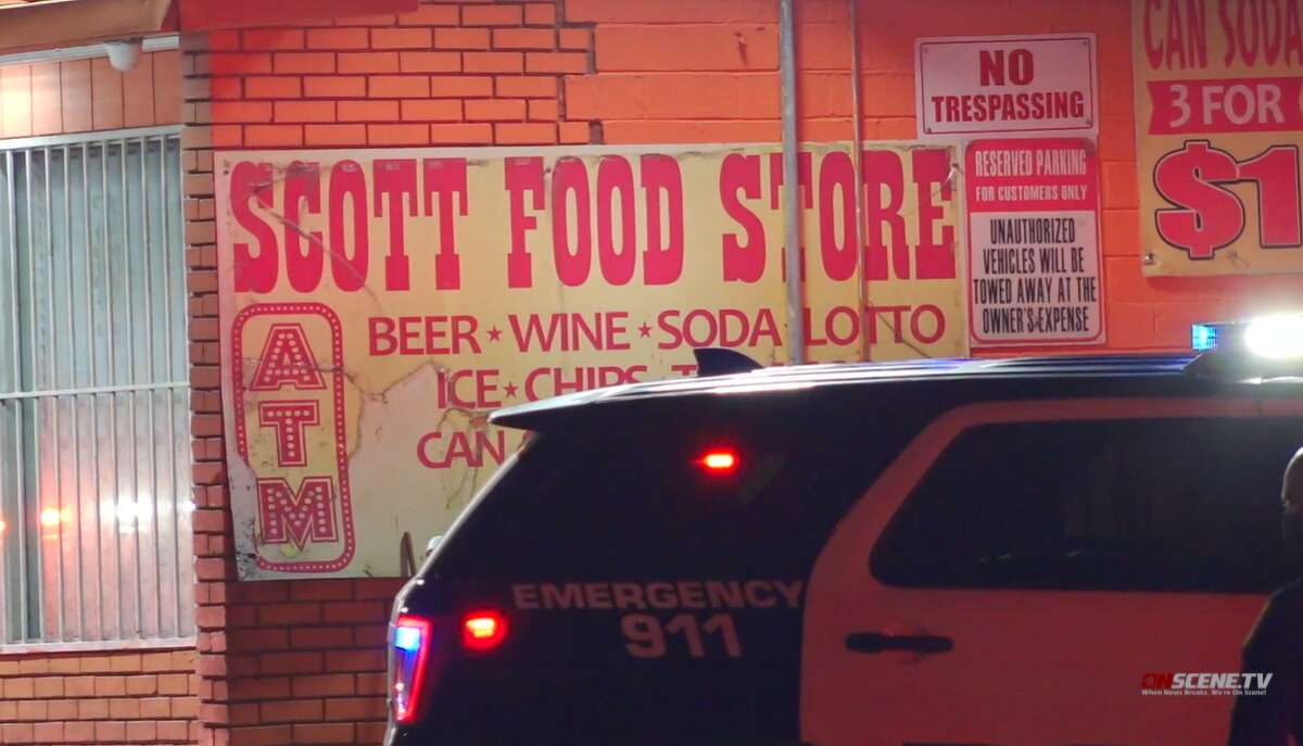 A man died in an apparent drive-by shooting in the 8200 block of Scott Street, on Sunday, Sept. 26, 2021.