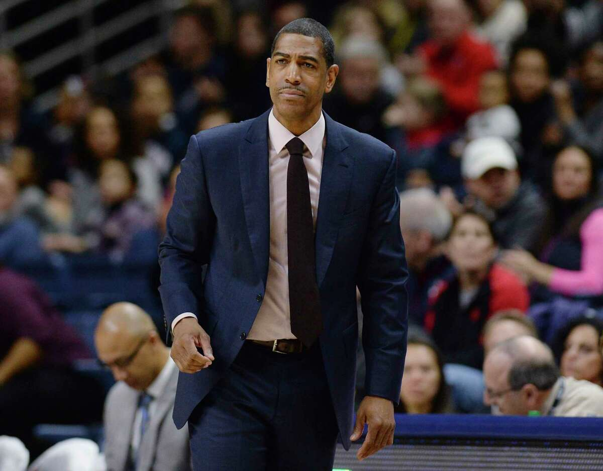 Former UConn coach Kevin Ollie, shown during a 2018 game, is now the head coach and director of player development at Overtime Elite, a program for high-level recruits who have forsaken amateurism to earn a minimum $100,000 per year in an environment that mixes basketball and education.
