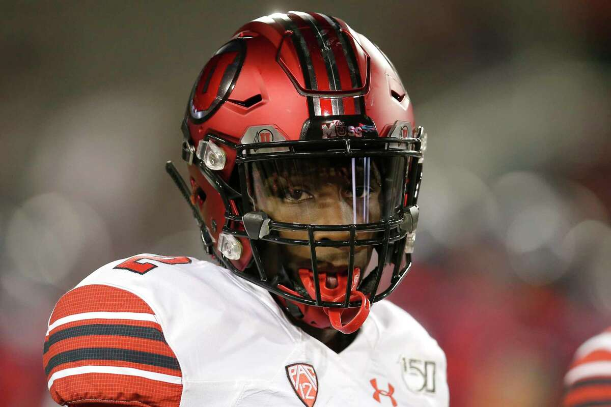 FILE - Utah defensive back Aaron Lowe (2) is shown in the first half of an NCAA college football game against Arizona, in Tucson, Ariz., in this Saturday, Nov. 23, 2019, file photo. A University of Utah football player has been killed in a shooting at a house party early Sunday, Sept. 26, 2021, Salt Lake City police said. The shooting that killed Aaron Lowe occurred just after midnight, only hours after the Utes beat Washington State 24-13. Police said another victim in the attack was in critical condition and authorities were searching for a suspect.