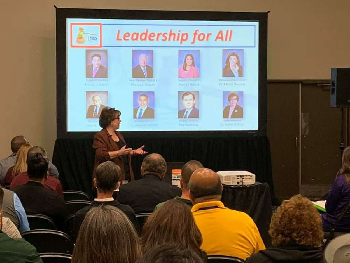LISD leaders present Saturday at the Texas Association of School Administrators/Texas Association of School Boards annual conference. LISD will be closed to students Monday for for staff development training.
