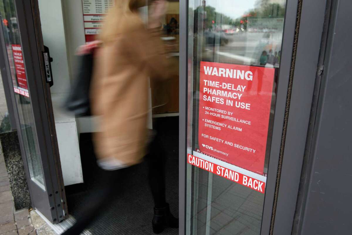CVS is rolling out new time-delay safes inside its Houston stores to prevent high-demand drugs from being stolen.