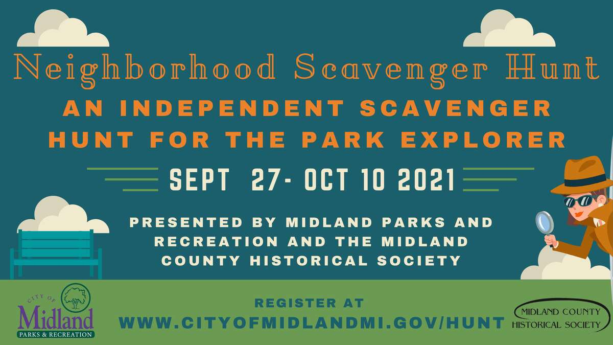 Midland Parks and Recreation invites residents to celebrate Midland Neighboring Week with a citywide parks history mystery scavenger hunt.