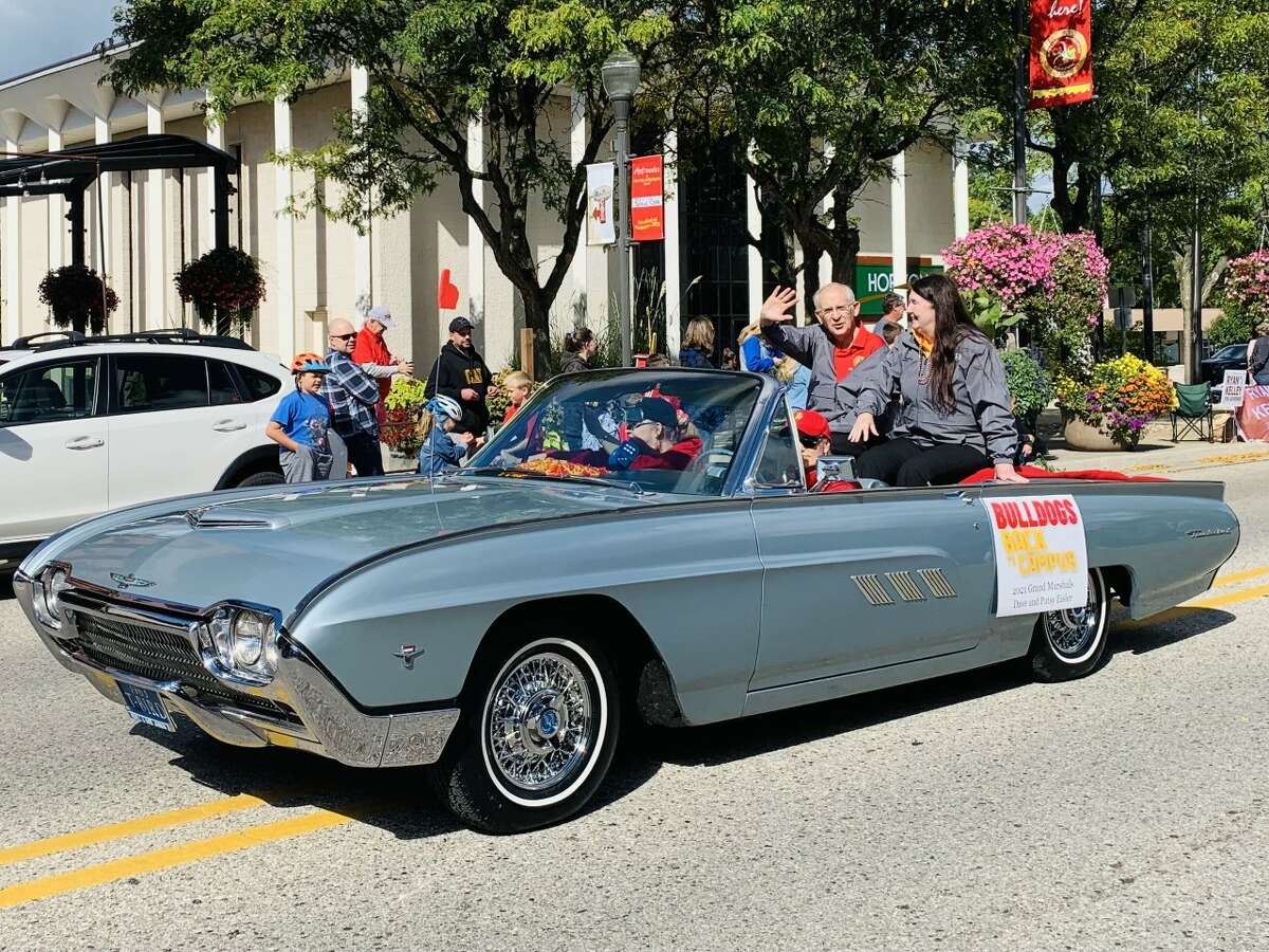 Ferris State's Homecoming parade on Saturday featured a number of different university organizations and clubs.