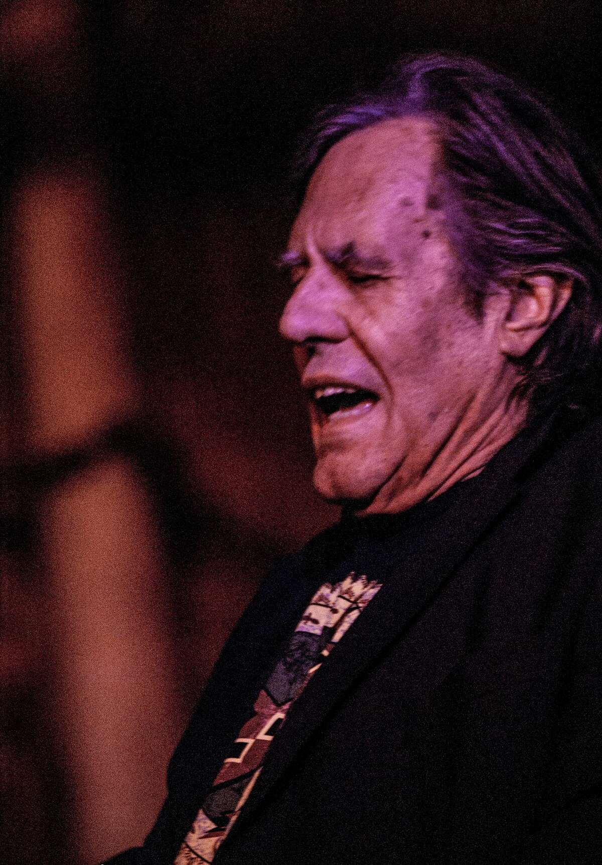 George Frayne IV, aka Commander Cody, performing with the band Commander Cody and His Lost Planet Airmen at The Hangar on the Hudson in Troy in 2017. He founded the group in 1967 and led different versions of it for the rest of his life while also pursuing a successful career as a visual artist. A resident of Saratoga Springs since the mid-1990s, Frayne died Sunday, Sept. 26, 2021, at age 77.
